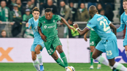 Saint Etienne y Wolfsburgo igualaron 1-1 en la segunda jornada de la Europa League