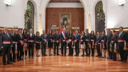 El gabinete de Vicente Zeballos juró en Palacio: estos son los cambios y los nuevos ministros