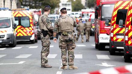 Un hombre asesinó a cuatro policías en ataque con cuchillo en París