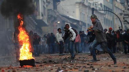Siete claves de la ola de protestas en Ecuador