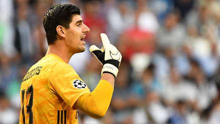 Thibaut Courtois reveló el motivo por el cual fue sustituido en el entretiempo del Real Madrid vs. Brujas