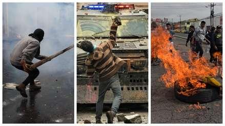 Caos en Ecuador : 15 fotos de la violenta protesta contra el alza de combustibles