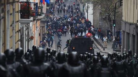 Ecuador: Huelga de transporte y escuelas vacías en segundo día de crisis [FOTOS Y VIDEO]