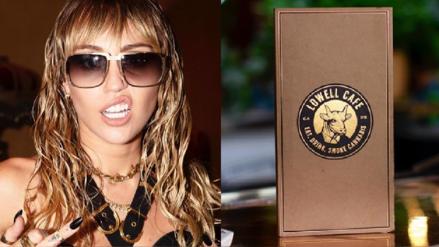 Miley Cyrus abre café dedicado a usuarios de cannabis