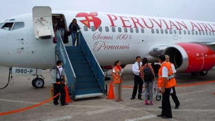 MTC brindará protección a pasajeros tras cancelación de vuelos de Peruvian Airlines