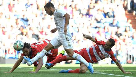 ¡Su primero en LaLiga! Eden Hazard anotó el segundo gol de Real Madrid ante Granada
