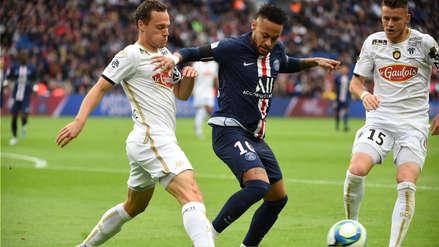 ¡No tuvo piedad! Con gol de Neymar, PSG goleó 4-0 a Angers por la fecha 9 de la Ligue 1