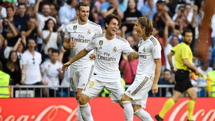 ¡Golazo! Luka Modric puso el tercero para Real Madrid en el partido ante Granada por LaLiga