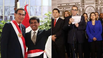 Ministro Jorge Meléndez sobre el fujimorismo y sus aliados: