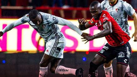 Sin Anderson Santamaría, Atlas empató 2-2 con Tijuana por el Torneo Apertura de la Liga MX