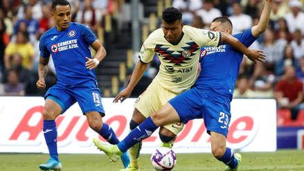 Con Yoshimar Yotún, Cruz Azul goleó 5-2 a América por la fecha 13 de la Liga MX