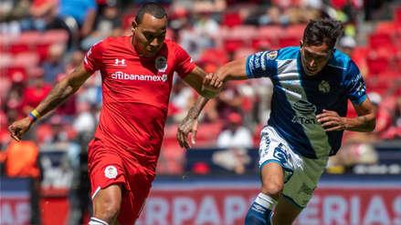 El Puebla de Juan Reynoso igualó 1-1 con Toluca como visitante en la Liga MX