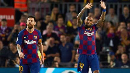 Arturo Vidal anotó el segundo gol de Barcelona contra Sevilla después de gran pase de Arthur