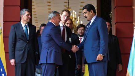 Maduro anuncia que Venezuela renovó contratos de cooperación y asesoría militar con Rusia