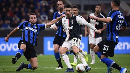 ¡Nuevo líder! Con Cristiano Ronaldo, Juventus venció 2-1 a Inter de Milán y es puntero de la Serie A