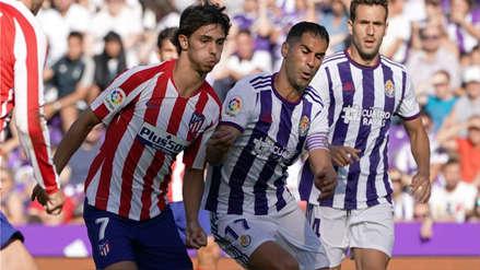 Atlético de Madrid y Valladolid igualaron sin goles por la octava fecha de la Liga Santander