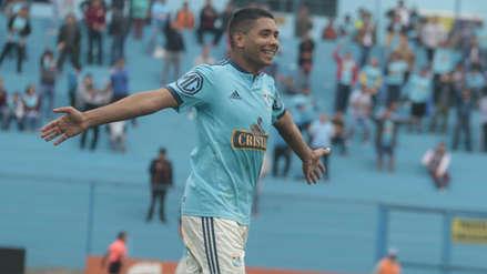 ¡Concretó la goleada! Cristian Palacios marcó el 3-0 de Sporting Cristal en el Alberto Gallardo