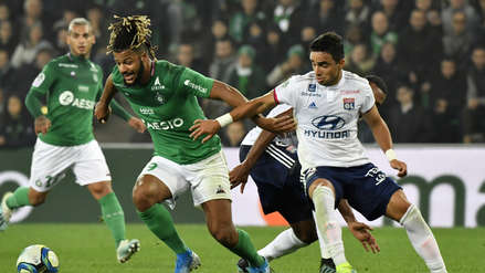 Con Miguel Trauco, Saint Etienne venció 1-0 a Olympique de Lyon por la novena jornada de la Ligue 1