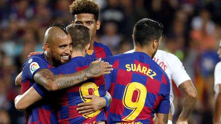 Barcelona apabulló 4-0 al Sevilla en la Liga Santander y quedó a dos puntos del Real Madrid