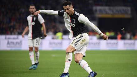 ¡Pura calidad! Cristiano Ronaldo realizó jugada de lujo en el Juventus vs. Inter de Milán