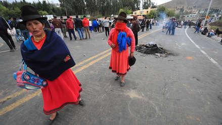 Ecuador: Comunidades indígenas continúan su avance a Quito tras eliminación del subsidio al combustible [VIDEO]