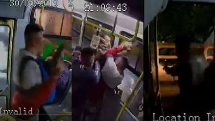 Pánico a bordo: Asaltan bus en circulación y pasajero desarma y dispara a ladrón