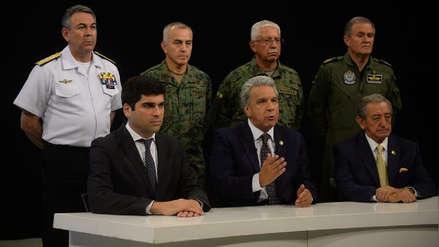 Lenín Moreno traslada sede de Gobierno a Guayaquil y culpa a Correa de un intento de golpe de Estado [VIDEO]