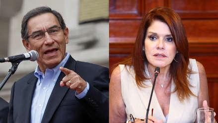 Vizcarra: Renuncia de Aráoz a la vicepresidencia la analizará el Ministerio de Justicia