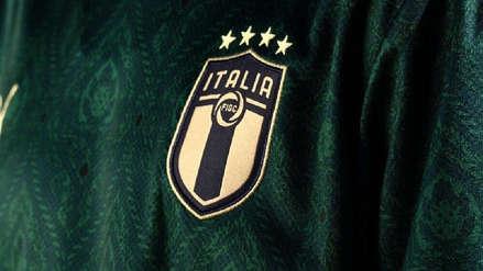 Con verde y morado: la novedosa camiseta que estrenará la Selección de Italia en la próxima fecha FIFA