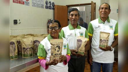 Café de calidad es producido por personas adultas mayores