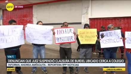 VMT: Vecinos denuncian que local 'La Nené' es un prostíbulo y acusan a juez de suspender su clausura