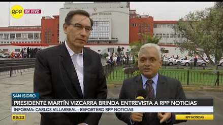 Martín Vizcarra saludó a RPP por su 56 aniversario: