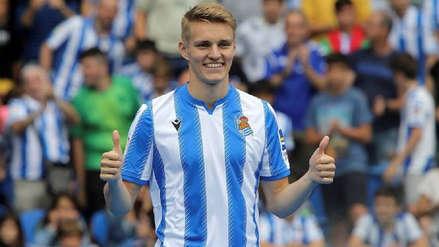 ¿Vuelve pronto? Martin Odegaard reveló que tiene comunicación con el Real Madrid