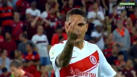 Paolo Guerrero fue denunciado en la Corte Superior de Deportes y podría perderse hasta 18 partidos del Brasileirao