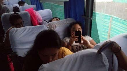 Escolares peruanos que estuvieron varados en Ecuador llegarán en las próximas horas a Tumbes