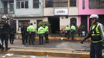 Un bebé muerto y 12 heridos por deflagración en restaurante de La Victoria
