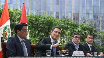 Martín Vizcarra: Gobierno evalúa emitir decreto de urgencia para reactivar obras paralizadas