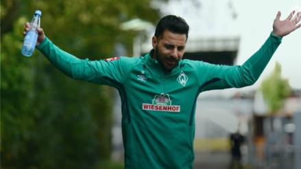 ¡Qué crack! El emocionante reto de FIFA20 en el que Claudio Pizarro fue protagonista con el Werder Bremen