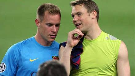 Marc André ter Stegen sobre Manuel Neuer: