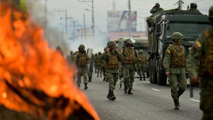 25 fotos de las violentas protestas en Ecuador que han puesto en jaque al gobierno de Moreno