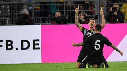¡Lo remontó! Argentina empató 2-2 a Alemania en el Signal Iduna Park de Dortmund
