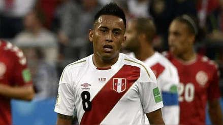 Christian Cueva no será titular en el Perú vs. Uruguay en Montevideo