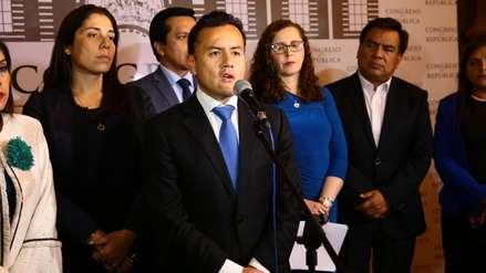 Richard Acuña presentó solicitud de licencia temporal a Alianza Para el Progreso