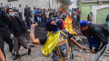 Crisis en Ecuador: Más de 760 detenidos desde el inicio de las protestas contra alza de combustibles