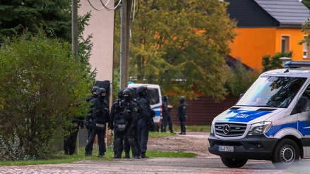 Un hombre detenido tras un tiroteo en el este de Alemania con dos muertos
