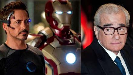 Robert Downey Jr. le responde a Martin Scorsese tras sus críticas a las películas de Marvel