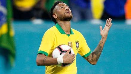 ¡Lo celebran! Revelan exclusiva camiseta que conmemora los 100 partidos de Neymar con Brasil