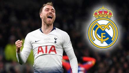 El fichaje de Christian Eriksen en Real Madrid será en enero del 2020
