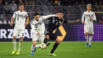 ¿Provocación? El increíble mosaico de gloria para Alemania y bronca para Argentina que se vio en la tribuna
