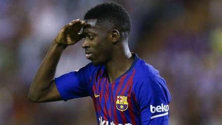 ¡No jugará ante Real Madrid! Ousmane Dembelé recibió sanción tras ser expulsado del Barcelona vs. Sevilla
